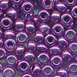 Rocailles Beads lila metallic